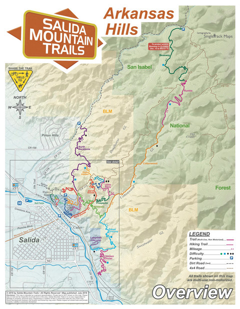 Salida Mountain Trails - Volunteer Trail Construction in